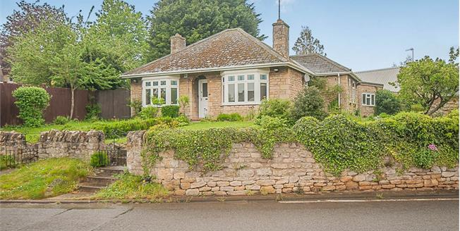 Guide Price £150,000, 2 Bedroom Detached Bungalow For Sale in Weldon, NN17