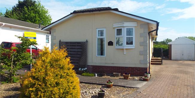 Asking Price £140,000, Mobile Home For Sale in Langham, LE15