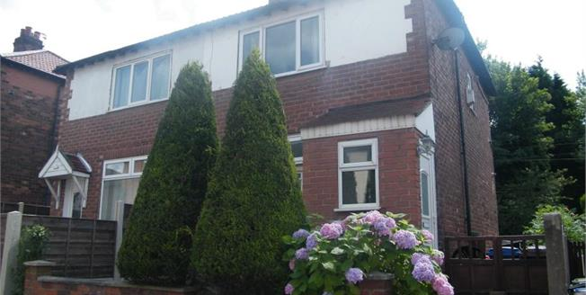 Offers Over £115,000, 2 Bedroom Semi Detached For Sale in Stockport, SK1