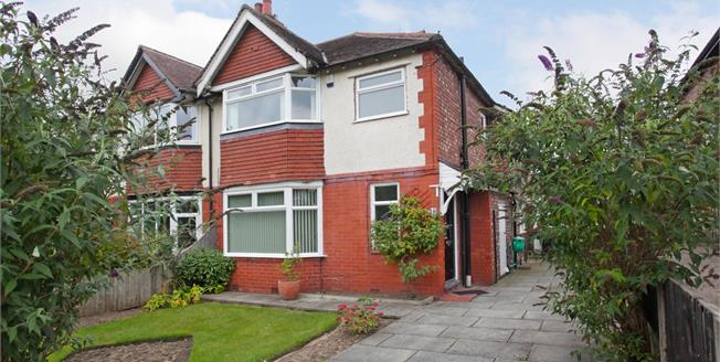 Offers Over £325,000, 3 Bedroom For Sale in Bramhall, SK7