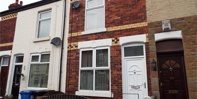 Offers Over £120,000, 2 Bedroom Terraced House For Sale in Stockport, SK1