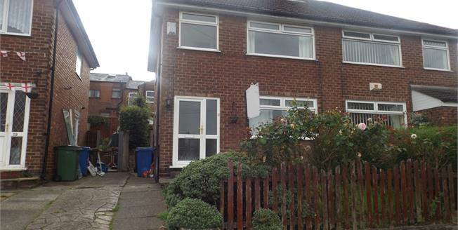 Guide Price £130,000, 3 Bedroom Semi Detached House For Sale in Stockport, SK1