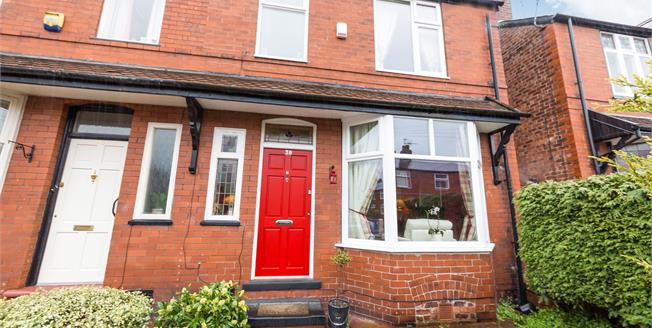 Offers Over £265,000, 3 Bedroom Semi Detached House For Sale in Stockport, SK2