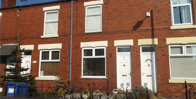Guide Price £130,000, 2 Bedroom Terraced House For Sale in Stockport, SK1