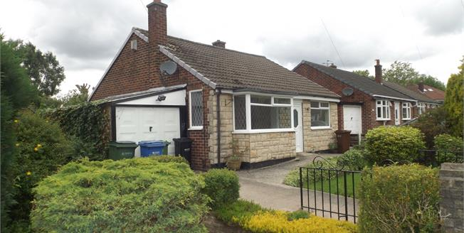 Guide Price £220,000, 2 Bedroom Detached Bungalow For Sale in Stockport, SK2