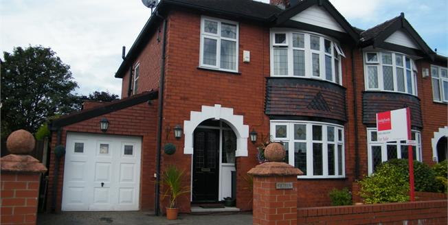 Offers in the region of £250,000, 3 Bedroom Semi Detached House For Sale in Stockport, SK2