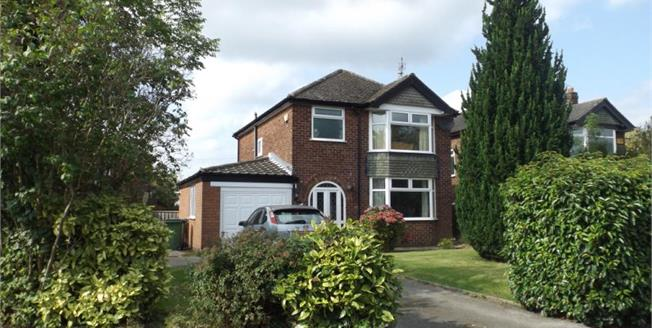 Offers in the region of £300,000, 3 Bedroom Detached House For Sale in Hazel Grove, SK7