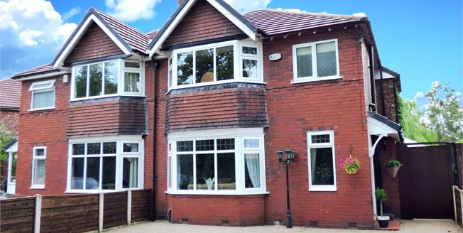 Guide Price £350,000, 3 Bedroom Semi Detached House For Sale in Hazel Grove, SK7