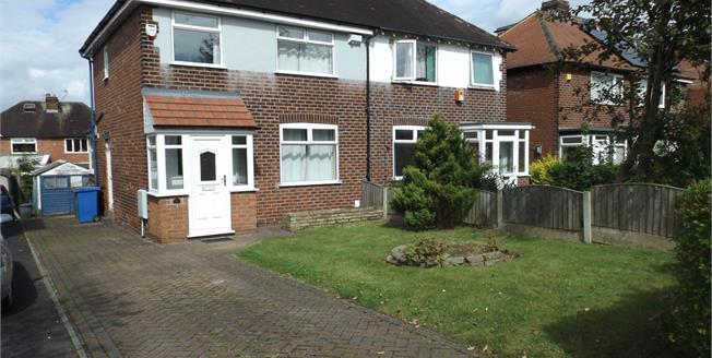 Guide Price £180,000, 3 Bedroom Semi Detached House For Sale in Hazel Grove, SK7