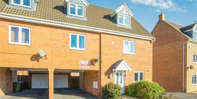 Offers in the region of £235,000, 4 Bedroom Semi Detached House For Sale in Hampton Hargate, PE7