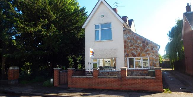 Asking Price £225,000, 3 Bedroom Detached House For Sale in Woodston, PE2