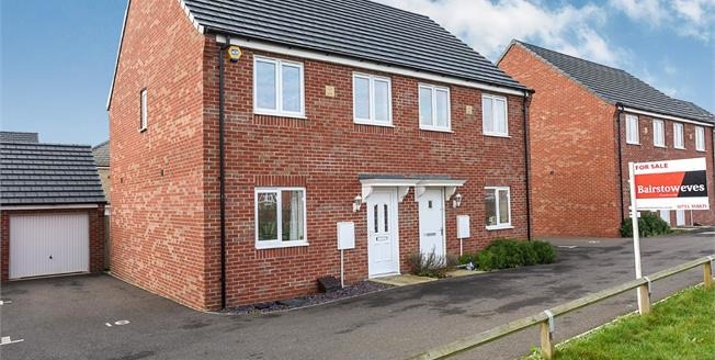 Asking Price £179,995, 3 Bedroom Semi Detached House For Sale in Peterborough, PE2