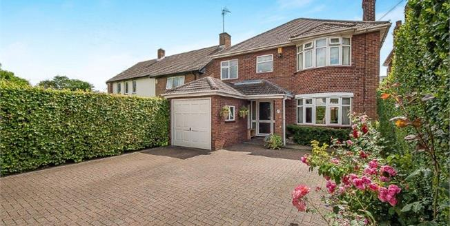 Asking Price £350,000, 4 Bedroom Detached House For Sale in Peterborough, PE2