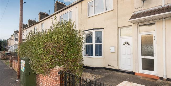 Asking Price £130,000, 2 Bedroom Terraced House For Sale in Peterborough, PE1