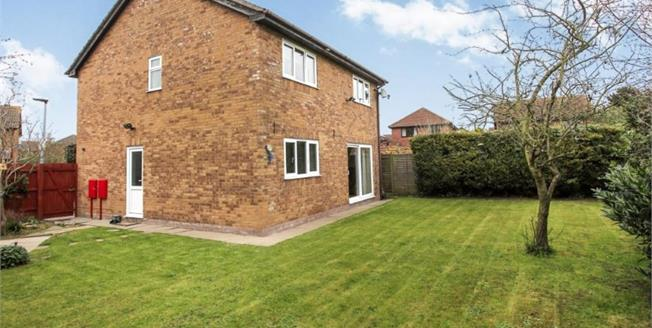 Offers Over £245,000, 4 Bedroom Detached House For Sale in Peterborough, PE4