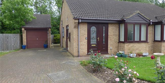 Asking Price £130,000, 2 Bedroom Semi Detached Bungalow For Sale in Orton Brimbles, PE2