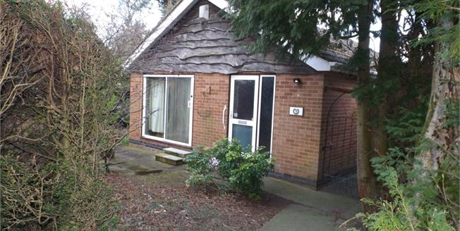 Guide Price £143,000, 2 Bedroom Detached Bungalow For Sale in Ravenshead, NG15