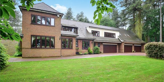 Asking Price £1,895,000, 5 Bedroom Detached House For Sale in Ravenshead, NG15