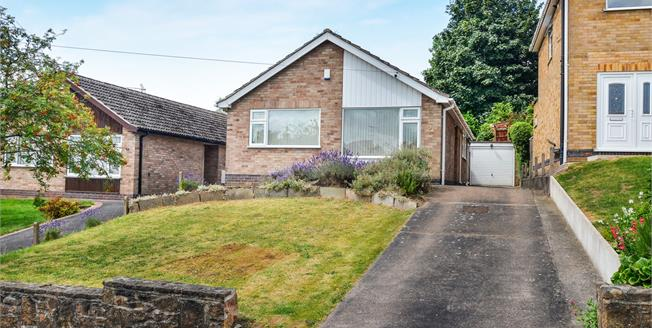 Asking Price £199,000, 2 Bedroom Detached Bungalow For Sale in Ravenshead, NG15