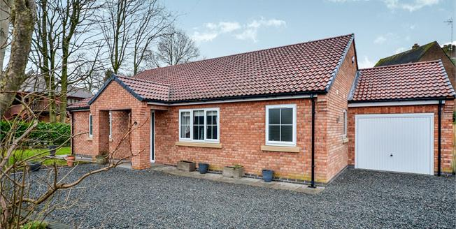 Offers in the region of £385,000, 3 Bedroom Detached Bungalow For Sale in Ravenshead, NG15