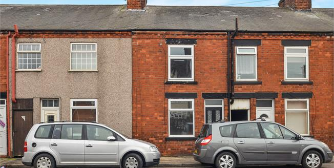 Offers Over £70,000, 3 Bedroom Terraced House For Sale in Sutton-in-Ashfield, NG17