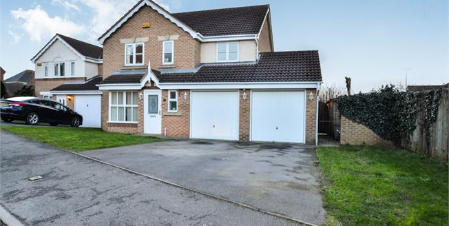 Offers Over £220,000, 4 Bedroom Detached House For Sale in Sutton-in-Ashfield, NG17