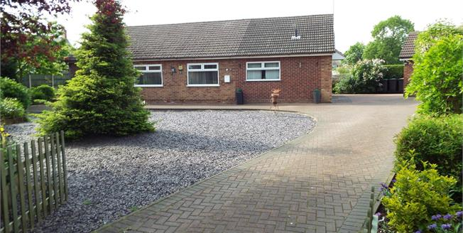 Offers Over £240,000, 3 Bedroom Detached Bungalow For Sale in Sutton-in-Ashfield, NG17