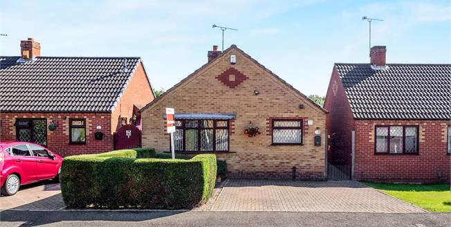 Offers Over £125,000, 2 Bedroom Detached Bungalow For Sale in Huthwaite, NG17
