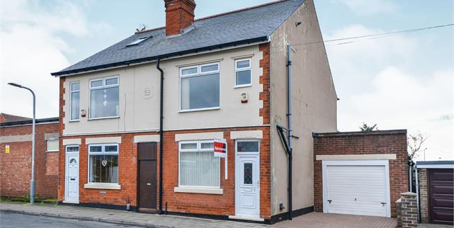 Offers Over £115,000, 2 Bedroom Semi Detached House For Sale in Sutton-in-Ashfield, NG17