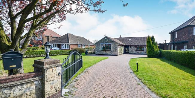 Offers Over £320,000, 5 Bedroom Detached Bungalow For Sale in Sutton-in-Ashfield, NG17