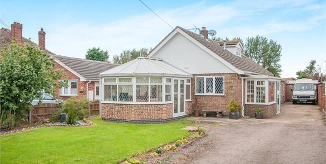 Asking Price £220,000, 4 Bedroom Detached Bungalow For Sale in Chapel St. Leonards, PE24