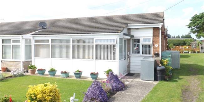 Offers in the region of £60,000, 2 Bedroom Semi Detached Bungalow For Sale in Skegness, PE25