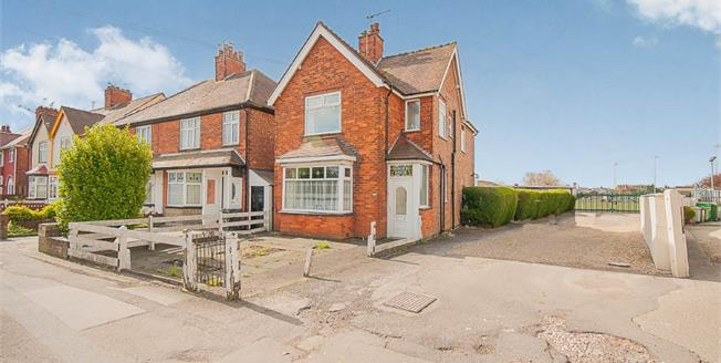 Offers Over £140,000, 3 Bedroom Detached House For Sale in Skegness, PE25