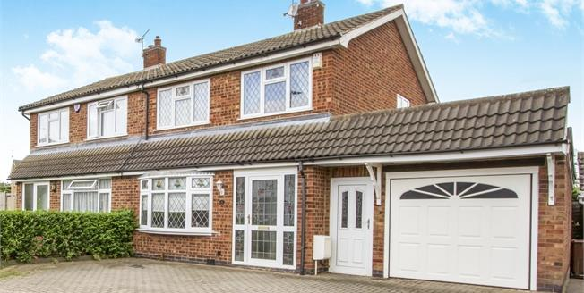 Asking Price £195,000, 3 Bedroom Semi Detached House For Sale in Syston, LE7