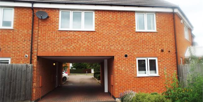 Asking Price £110,000, 1 Bedroom Semi Detached Flat For Sale in Queniborough, LE7