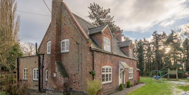 Guide Price £550,000, 4 Bedroom Detached Cottage For Sale in Brooksby, LE14