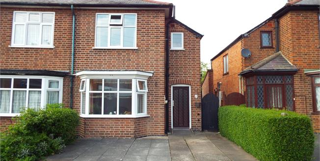 Asking Price £170,000, 3 Bedroom Semi Detached House For Sale in Wigston, LE18