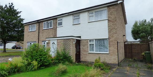 Asking Price £155,000, 3 Bedroom Semi Detached House For Sale in Wigston, LE18