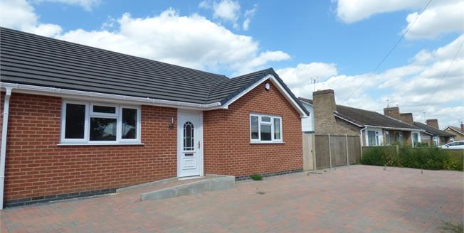 Offers Over £210,000, 2 Bedroom Semi Detached Bungalow For Sale in Wigston, LE18