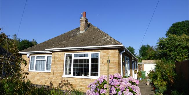 Guide Price £235,000, 2 Bedroom Detached Bungalow For Sale in Wigston, LE18