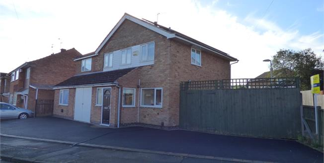 Guide Price £280,000, 5 Bedroom Detached House For Sale in Wigston, LE18