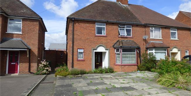Offers in the region of £160,000, 3 Bedroom Semi Detached House For Sale in Wigston, LE18