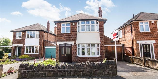 Offers in the region of £240,000, 3 Bedroom Detached House For Sale in Nottingham, NG8