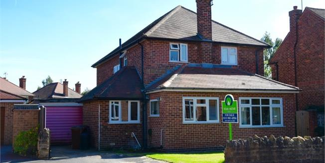 Offers in the region of £430,000, 4 Bedroom Detached House For Sale in Nottingham, NG8
