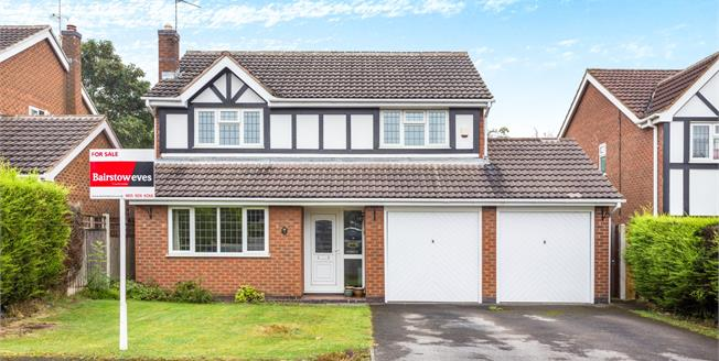 Asking Price £315,000, 4 Bedroom Detached House For Sale in Nottingham, NG8