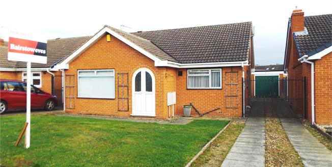 Guide Price £270,000, 3 Bedroom Detached Bungalow For Sale in Bramcote, NG9