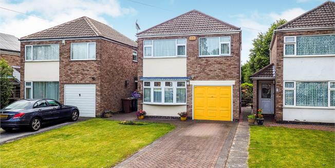 Asking Price £245,000, 3 Bedroom Detached House For Sale in Nottingham, NG8