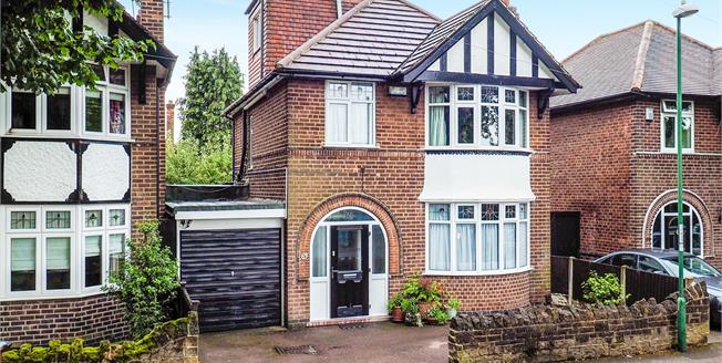 Asking Price £377,000, 4 Bedroom Detached House For Sale in Nottingham, NG8