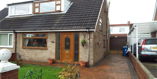 Offers Over £120,000, 3 Bedroom Semi Detached House For Sale in Golborne, WA3