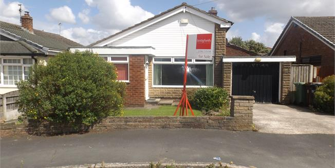 Offers Over £160,000, 3 Bedroom Detached Bungalow For Sale in Lowton, WA3